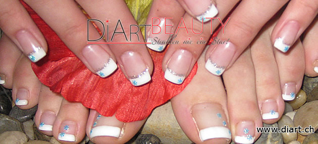 fussfrench foot nailart